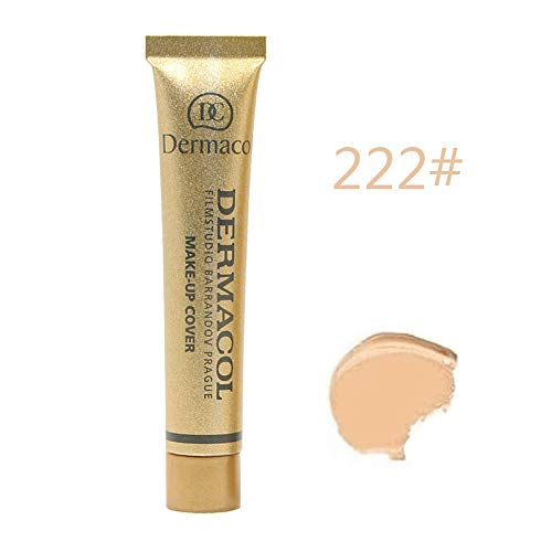 dermacol Make-up Cover – Stark cubrientes, impermeable Foundation con SPF 30
