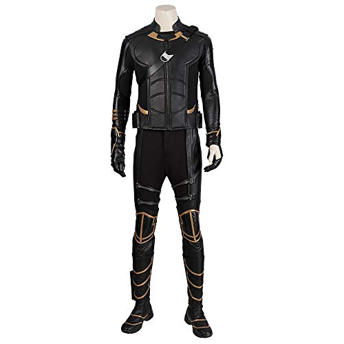 Lydia's Anime Vestiti Cosplay Costume Cosplay di Hawkeye Avengers 4 Stampa Stretto Natale Halloween Fancy Dress per Abbigliamento per Adulti with Shoes-Woman-XS