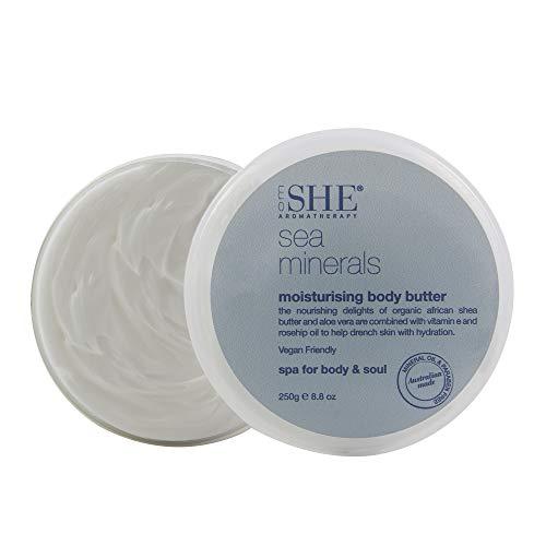 om SHE Aromatherapy Moisturizing Body Butter Sea Minerals
