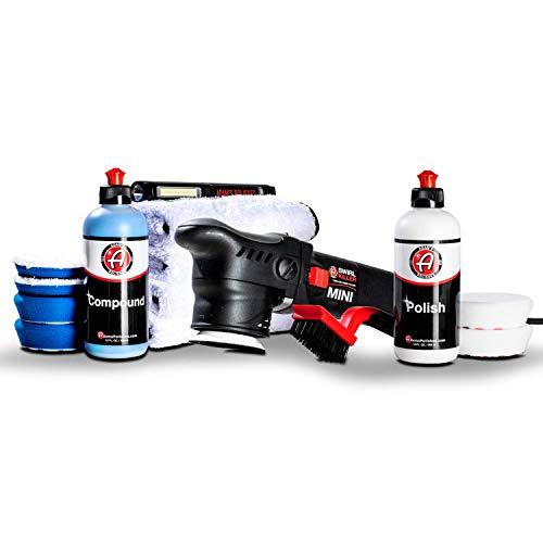 Adam's Swirl Killer 12mm Polisher - Orbital Polishing Paint Correcting Buffer Tool - Car Scratch Remover, Correcting Polish - Use Post Car Wash Clay Bar & Pre Wax or Ceramic Coating (Two Step Kit)