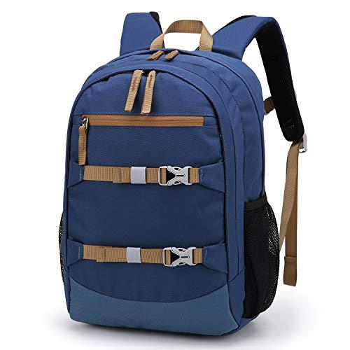 Mountaintop Mochila escolar unisex para niños de 8  26 12 37 cm  azul  12l  infantil