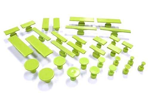 Dent Magic Tools Blackplague Gang Green Smooth 32Pc PDR Glue Tab