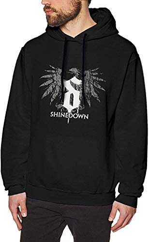 YeeATZ Shinedown Rock Band 2 - Sudadera con capucha, color negro