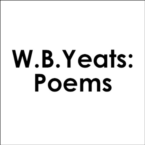 W.B. Yeats audiobook cover art