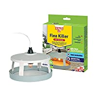 7 Watt heat lamp mimics warm blooded animals to attract fleas from bedding and carpets over a 10 metre radius Sticky pad (3 included) acts as an early indicator of infestation Constant monitor and control of flea problems in home environments Manufac...