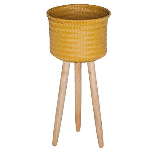 Preis am Stiel Korb auf Holzfüßen high | Dekokorb | Aufbewahrung | Handmade