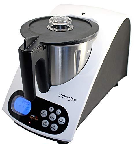 Superchef Robot de Cocina VA1500 Cook&MIx, 1100w+500w, jarra