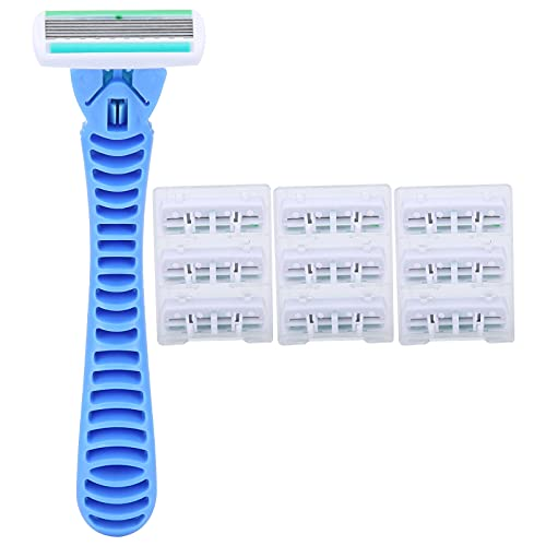Maquinilla De Afeitar, Cuchillas De Afeitar, Cabezal Cortador De Afeitadora Manual, Conjunto Para Salón Para El Hogar
