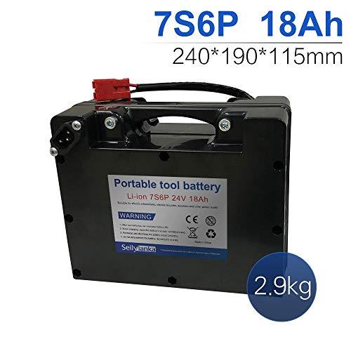 24V Li-ion batería dedicada a sillas de ruedas eléctricas Batería de plomo-ácido reemplazable 12Ah 15Ah 18Ah 24Ah 27Ah 30Ah 33Ah 36Ah 39Ah 42Ah 45Ah 48Ah 51Ah 54Ah 57Ah 60Ah (A-18Ah)