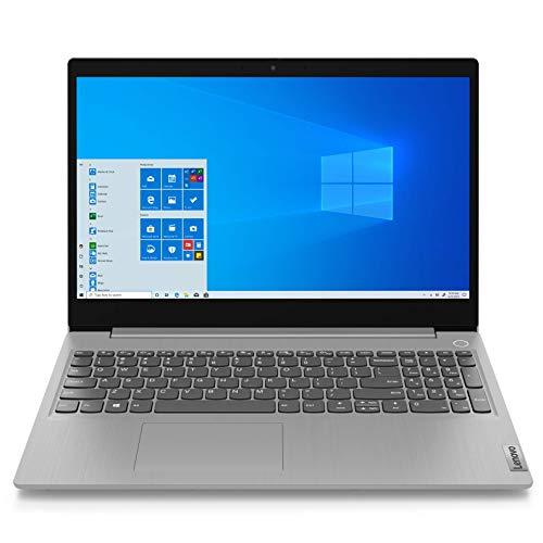 Lenovo IdeaPad 3i 15IIL05 Ordinateur Portable Ultraslim 15.6   FHD Gris platine (Intel Core i3, RAM 8Go, SSD 256Go, Intel UHD Graphics, Windows 10) - Clavier AZERTY (français)