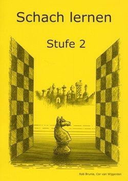 Schach lernen - Stufe 2 Schülerheft (Stappenmethode)