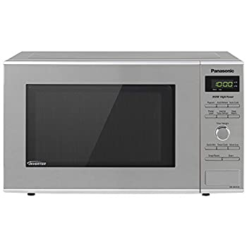 Panasonic Microwave Oven NN-SD372S Stainless Steel Countertop/Built-In with Inverter Technology and Genius Sensor 0.8 Cu Ft 950W