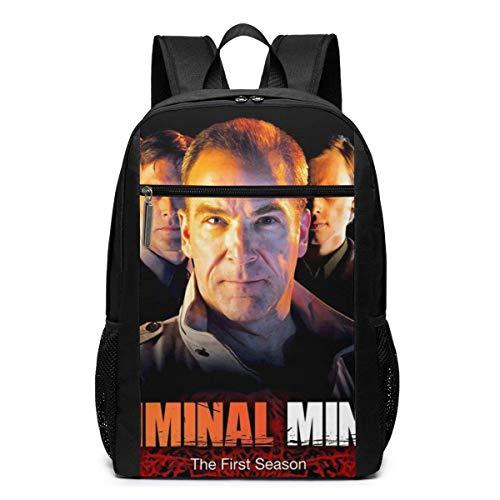 AOOEDM Criminal Minds 17 Inch Backpack Laptop Adjustable Shoulder Busin Travel School