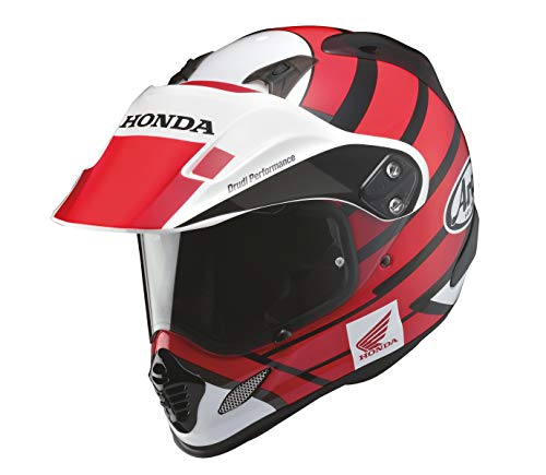 Honda(ホンダ) ヘルメット オフロード ツアークロス 3 アカ(61-62) 0SHGK-RT1A-RXL