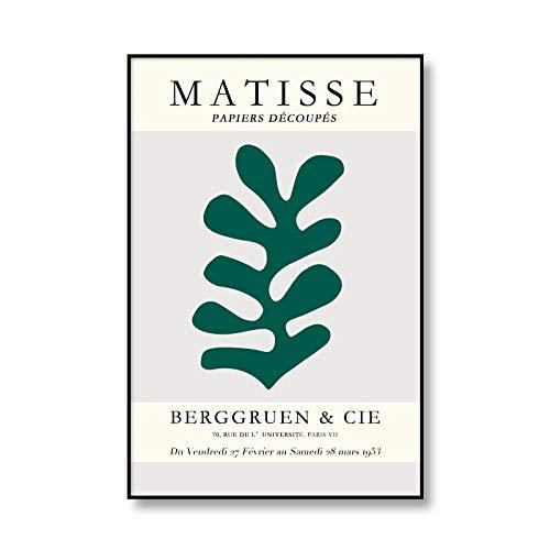 Henry Matisse carteles e impresiones de cuerpo abstracto arte de pared lienzo casa mujer moderna sin marco pintura decorativa en lienzo B 20x30cm