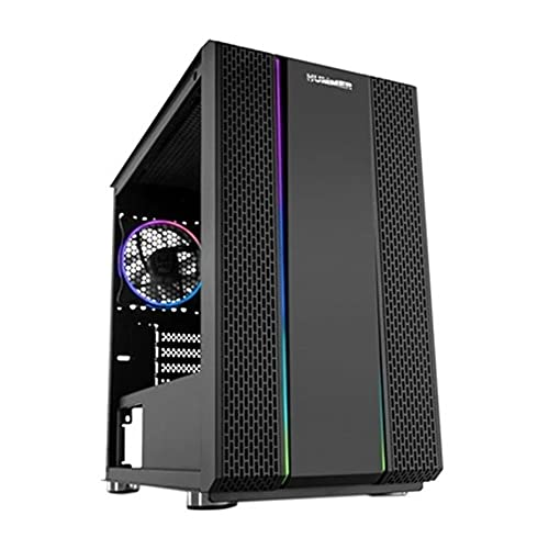 NOX, Caja Minitorre Micro ATX/ITX Hummer Fusion RGB LED Ne Gramos o (BIG-S0224778)