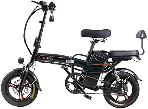 Bicicleta de ciudad plegable de aleación ligera de 14