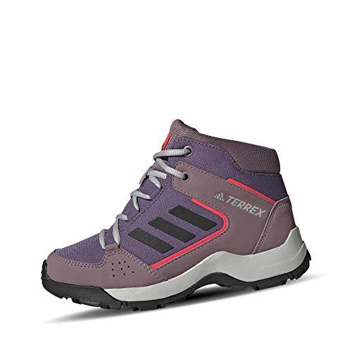 adidas Terrex Hyperhiker K, Chaussures de Sport Unisexe-Enfant, Purtec/Negbás/Rojsho, 35 EU
