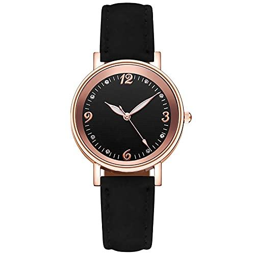 SIMEISM Moda nuevo temperamento simple mujeres cinturón reloj relojes señoras casual malla cinturón reloj de pulsera mujeres