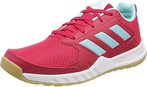 adidas Unisex-Kinder Fortagym K Fitnessschuhe, Pink (Energy Pink/Energy Aqua/Footwear White), 35.5 EU