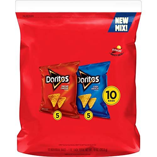 Doritos Taco Flavored Tortilla Chips, 9.75 Ounce