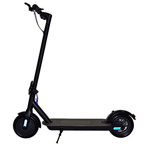 Elektroroller Mit Strassenzulassung,bis Zu 25km/h Elektro Scooter Anti-Rutsch Stoßdämpfer-Roller Für Erwachsene Den Täglichen Pendelverkehr,Robuster Leichter Und Faltbarer Erwachsene Elektroroller