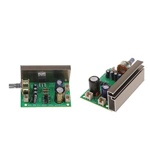 2 Stück TDA2030 20 Watt AC 12v-24v Mono Channel Digitale Verstärker Brett Leistungsverstärkerplatine Audio Stereo