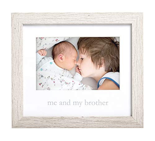 Kate & Milo Rustic Me & My Brother Frame, Sibling Gifts, Little or Big Big Gift, Woodland Nursery