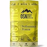Organic Performance Protein - Proteína orgánica a base de plantas y mezcla de súper alimentos | 100% Natural | Vegano | Organico | Cacao Crudo, 980g, 28 Porciones