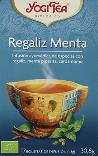 Yogi Tea Infusión de Hierbas Regaliz Menta - 17 bolsitas