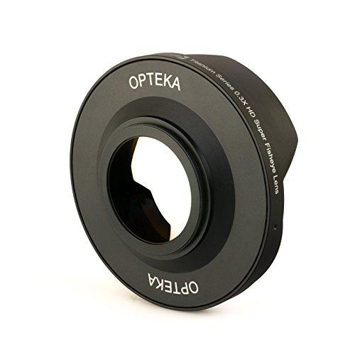 Opteka Titanium Series 72mm 0.3X HD Ultra Fisheye Lens for Panasonic AG-DVD80, AG-DVX100/B, AG-HMC150 and AG-HPX170 Professional Video Camcorders