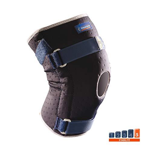 Verstärkte Knieorthese von Thuasne Sport - Blau - Größe S