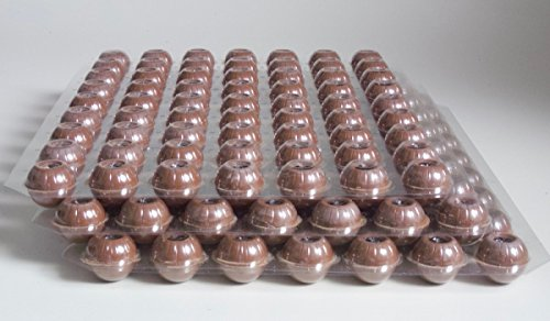 Schokoladen Trüffel Hohlkugeln - Praline Hohlkörper Vollmilch - 3 Set 189 Stück