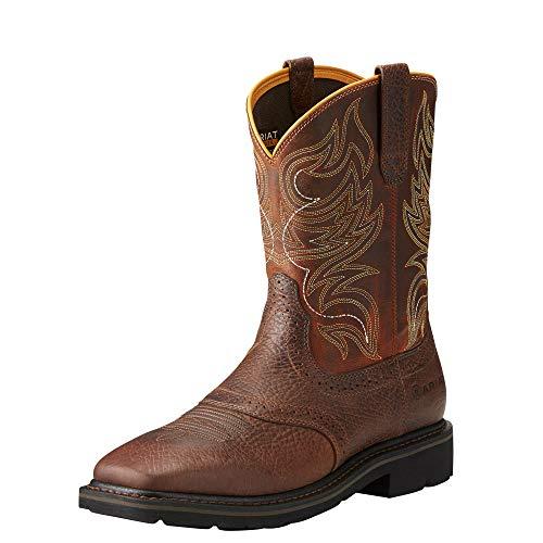 Ariat Work Men's Sierra Shadowland Steel Toe Work Boot, Mesa Brown, 13 D US