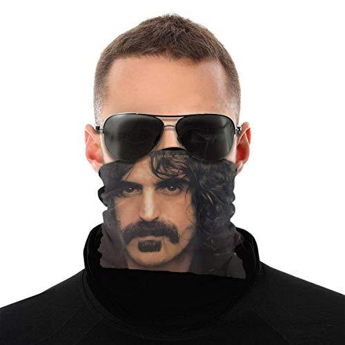 Ngxianbaimingj Bandanas, multifunción, polaina, pasamontañas para el cuello, cortavientos, unisex calentador de cuello, sombrero, Frank Zappa apostrophe