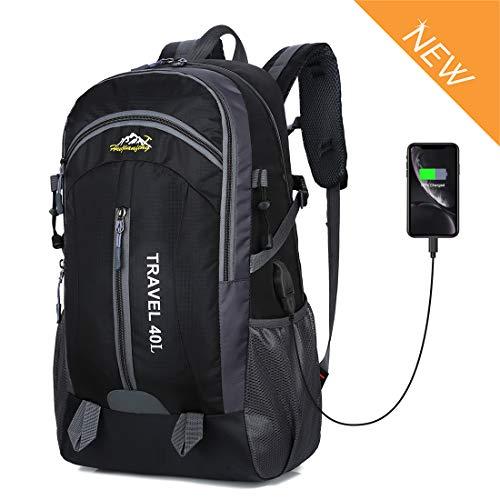 Recsoul 40L Unisex Hiking Backpack