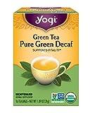 Yogi Tea, Green Tea Pure Green Decaf, 1.09 Ounce