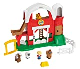 Little People - Set de Juego, Granja Sonidos Divertidos (Mattel Y9358)