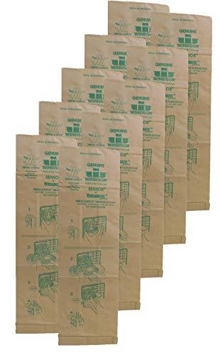 Genuine Windsor Triple Check Microfilter Bag 5300  Sensor and Versamatic Plus  1 Pack 10 Bags