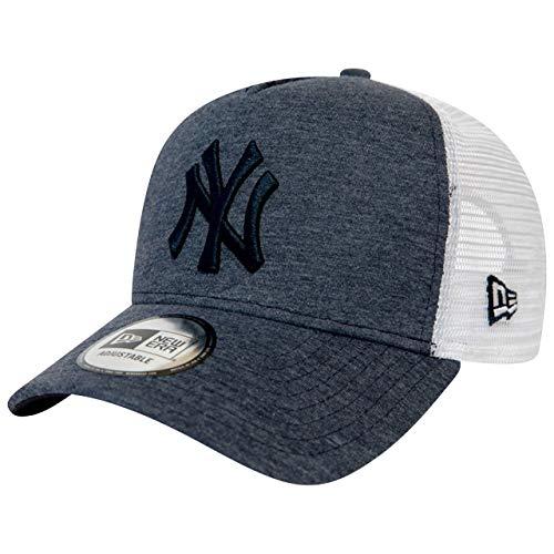 New Era Adjustable Trucker Cap - Jersey NY Yankees Navy