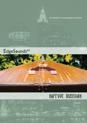New EdgeSounds Native Russian Volume 1 NI Kontakt 2 Format DVD-ROM