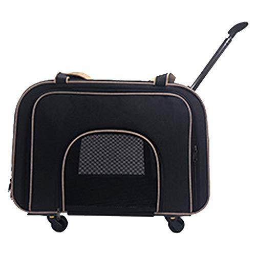 Reistas voor huisdieren, kleine dierenwagen, draagtas, opvouwbare kattendraagtas, luxe reishonden, kinderwagens