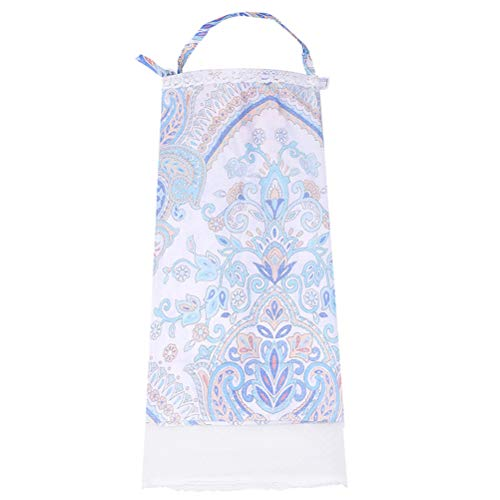 Yimer Nursing Cover All in One for Breastfeeding Infants with Mosquitoes Net 360 Degree Premium Cotton Nursing Covers for Baby in Public -  YUS-ZGRUB