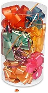Cylinder Clear PVC Box | Quantity: 12 | Diameter - 6