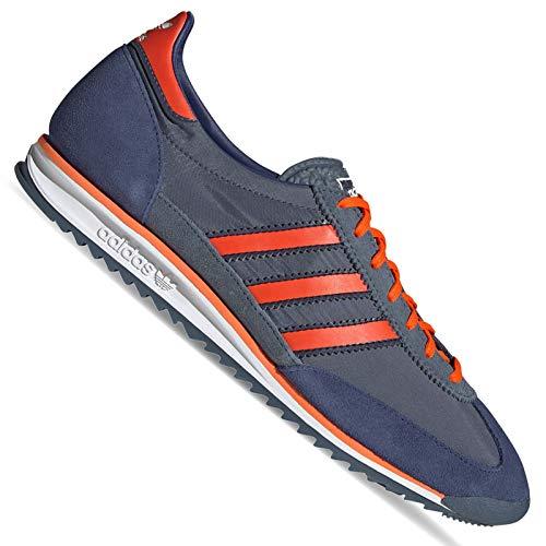 adidas SL 72 FV9783 - Zapatillas de piel retro, color azul, color Azul, talla 36 2/3 EU