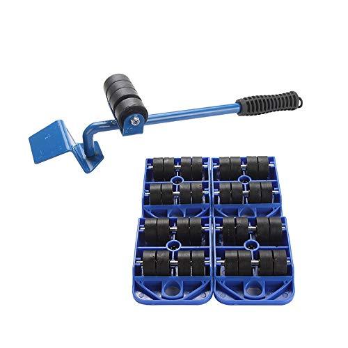 genneric 1 Set Möbel Lifter Durable Schweres Gerät Möbel Heben und Bewegen von Werkzeug-Set for schwere Möbel und Appliance Heben, 5 Stück
