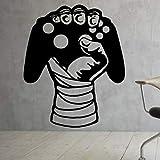 AKmene Decalcomanie per Gamepad Adesivi per Controller di Videogiochi Adesivi per Decalcomanie da Parete 40x49cm