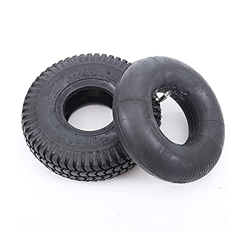 JAJU Neumáticos Interiores y Exteriores 3.00-5, patrón de Banda de Rodadura Antideslizante...