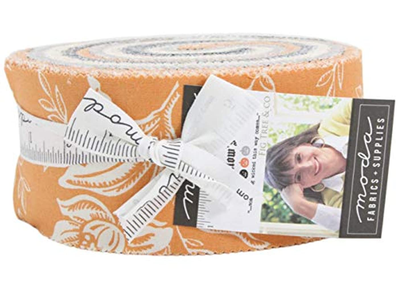 All Hallows Eve Jelly Roll 40 2.5-inch Strips by Fig Tree Quilts for Moda Fabrics 20350JR