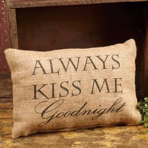 The Ranking TOP8 Country House Collection 12x8 Recommended Pillow Goodnight Burlap